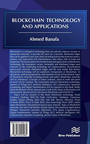 Blockchain Technology and Applications (River Publishers Series in Security and Digital Forensics)