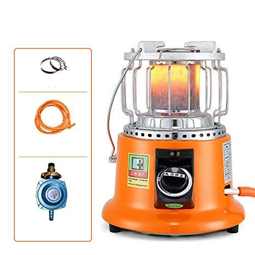 zlw-shop Calefactor Eléctrico Portátil Terraza Calentador Licuado Gas Pequeño Parrilla Al Aire Libre Calefactor