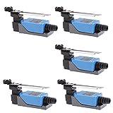 Bonarty 5 Pcs ME-8108 Adjustable Roller Lever Arm Limit...