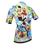 BXIO Maillot de ciclismo para mujer, transpirable Camisetas de ciclismo de verano Camisetas de ciclismo para mujer (187 (Jerseys Only), S)