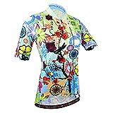 BXIO Maillot de ciclismo para mujer, transpirable Camisetas de ciclismo de verano Camisetas de ciclismo para mujer (187 (Jerseys Only), S)