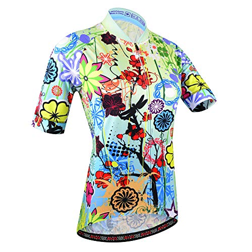 BXIO - Maglia da ciclismo da donna, traspirante, per ciclismo estivo, Uomo, 187(solo maglie), M