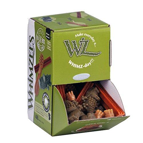 Kennelpak - Whimzees - Confezione di snack assortiti - 48 Pezzi (Taglia unica) (Assortito)