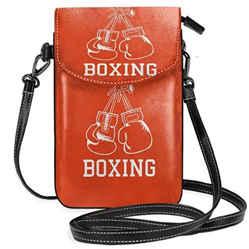 DJNGN Boxhandschuhe Kleine Handy Geldbörse Tasche Smartphone Geldbörse Geldbörse mit abnehmbarem Gurt