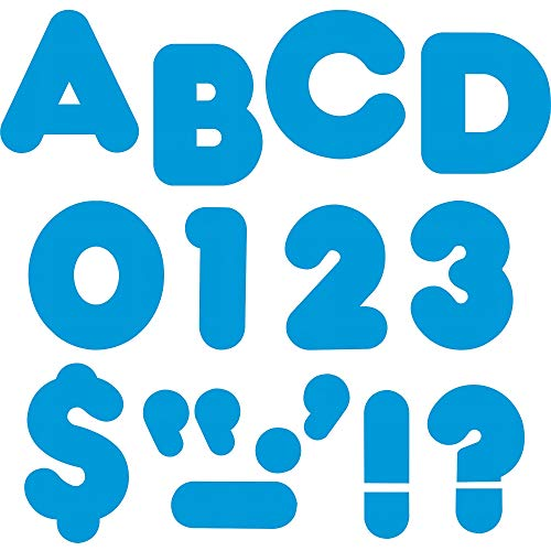 "TREND enterprises, Inc. Blue 2"" Casual Uppercase Ready Letters"