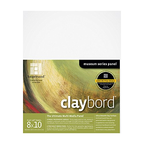 Ampersand Original Smooth Claybord 8 in. x 10 in. each