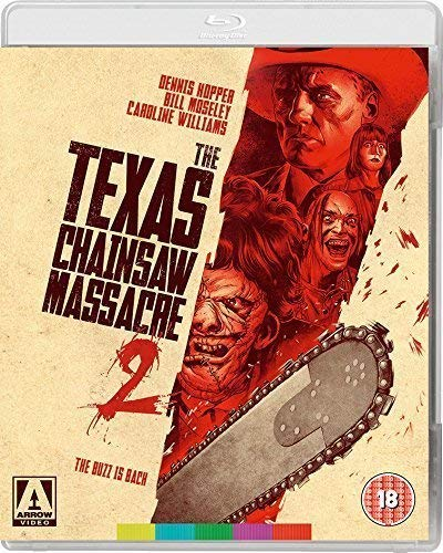 Non aprite quella porta - parte 2 / The Texas Chainsaw Massacre 2 [ Origine UK, Nessuna Lingua Italiana ] (Blu-Ray)