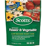 The Scotts Co. 1009001Scotts Multi-usages Fleurs et légumes Nourriture
