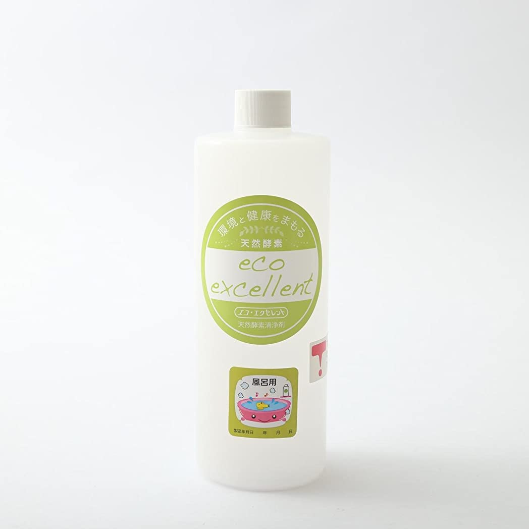 体出身地進行中天然酵素洗浄剤 エコエクセレント風呂用