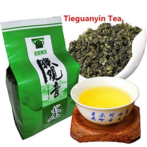 Directo de fábrica 50g (0.11LB) Chino Tieguanyin Oolong Tea Anxi Tie Guan Yin Té verde Alto costo efectivo Tikuanyin té té Té verde adelgazante