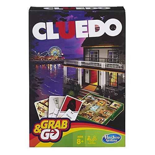 Hasbro Cluedo Reisespiel (Englische Sprache)[UK Import]