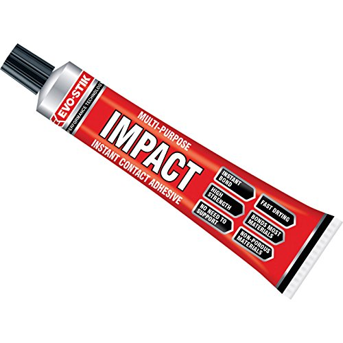 Evo Stick Impact - Instant Contact Adhesive - High Strength Glue - Small Tubes