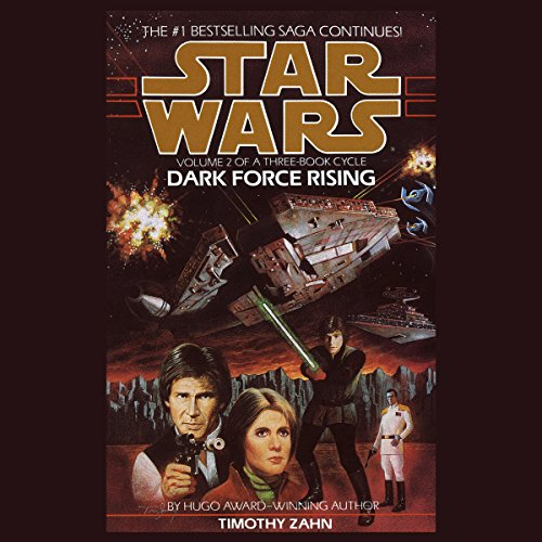 Page de couverture de Star Wars: Dark Force Rising: The Thrawn Trilogy, Book 2
