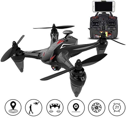 Mengen88 Luft-Quadcopter-Remote Control UAV GPS Positioning FPV RC 120°Wide-Angle 1080P HD Camera Smart Follow Return Follow-up Funktion für Kinder und Anf er