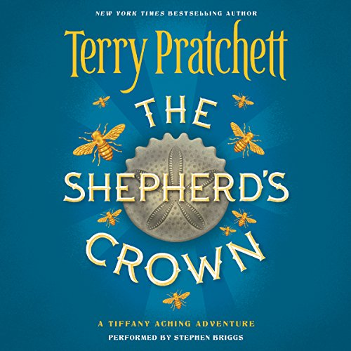 The Shepherd's Crown audiobook cover art