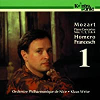 Piano Concertos No. 1, 2, 3 & 4 by Klaus Weise Homero Francesch (1994-07-25)