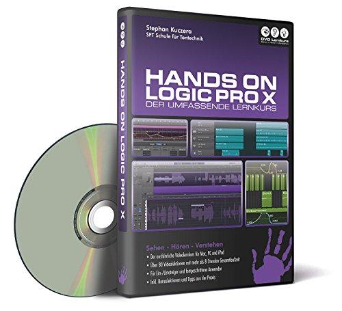 Preisvergleich Produktbild Hands on Logic Pro X - Der umfassende Lernkurs (PC + Mac + iPad)