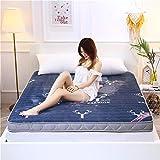 GFYL Tatami Matratze, Milch Velvet Traditioneller japanischer Boden Futon, No-Slip-Ultra Soft Futon Schlaf Pad-Sterne-Hotel Faltbare Tatami Dickere Version,B(10cm),120 * 200cm(47 * 79inch)