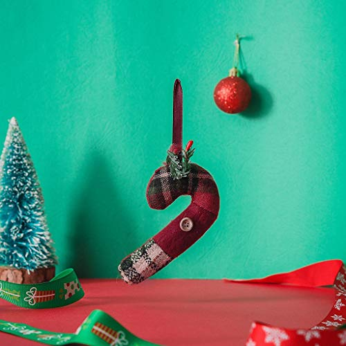 carol -1 Nikolausstrumpf Weihnachtsstrumpf Deko Kamin Christmas Stockings Nikolausstiefel zum Befüllen und Aufhängen Ideale Weihnachtsdekoration Echter Klassiker