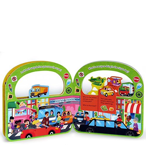 Vroom & Zoom: Things That Go Lift-a-Flap Book (Flip a Flap)