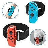 FYOUNG Beingurt für Ring Fit Adventure Nintendo Switch und verstellbares elastisches Band für Just Dance 2020 2019 Switch