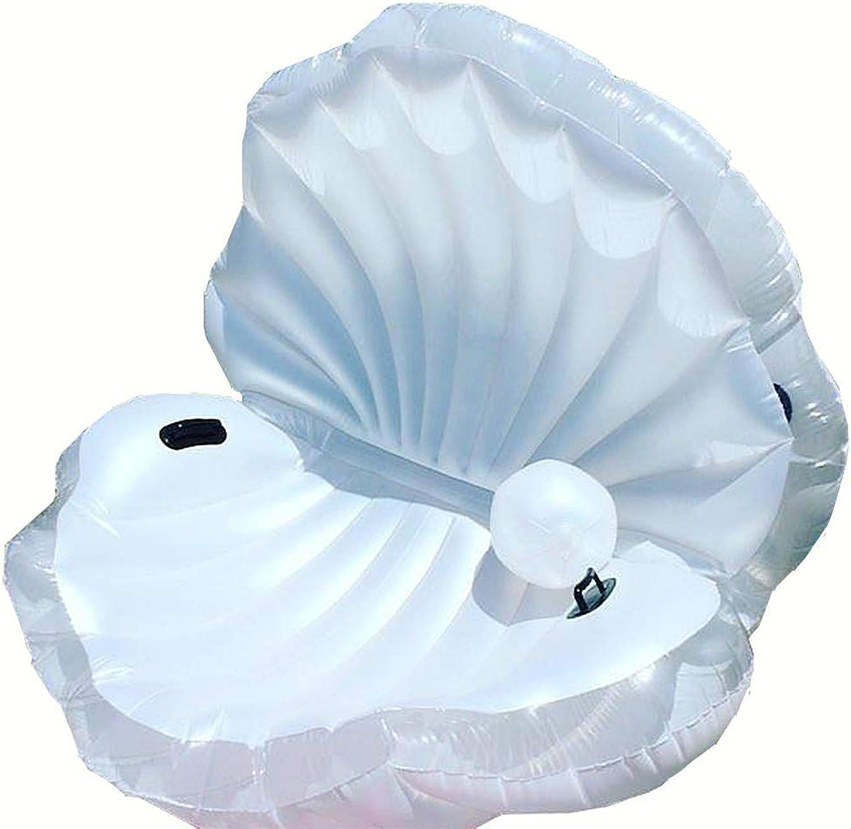 liquidación hasta el 70% QHWJ Fila Flotante Inflable Inflable Inflable del Agua, Juguete Inflable Flotante Inflable del Drenaje del PVC de la Silla de la Fila del Agua Inflable de Shell Conveniente para la Fiesta en la Piscina al Aire Libre  suministro directo de los fabricantes