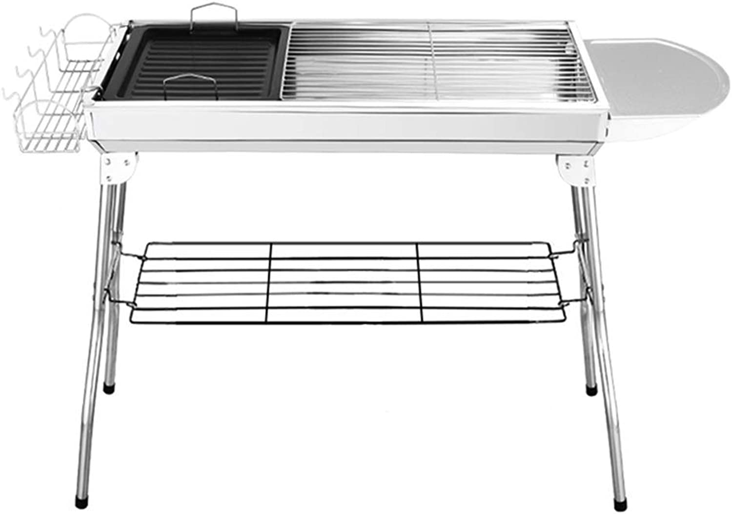 BBQ Supplies Barbecue Easy Barbecues Tool Set Stainless Steel Oven Outdoor Charcoal Tools Camping Beach Party Grill BBQ Full Accessories Carbon