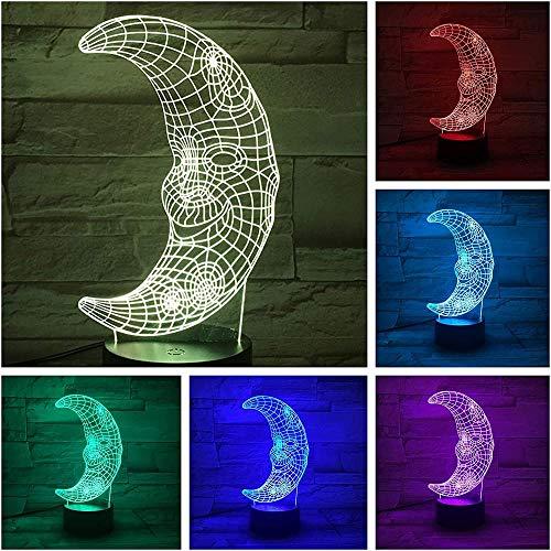 Nachtlicht Scary Maze Game Baby Nachttischdekoration 3D Lichter Dekoration LED Weihnachtsdekoration Mehrfarbige Vision der Schlafzimmerdekoration
