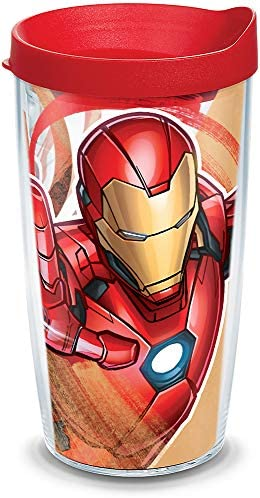 Tervis Marvel Iron Man Insulated Tumbler 16oz Tritan Iconic product image