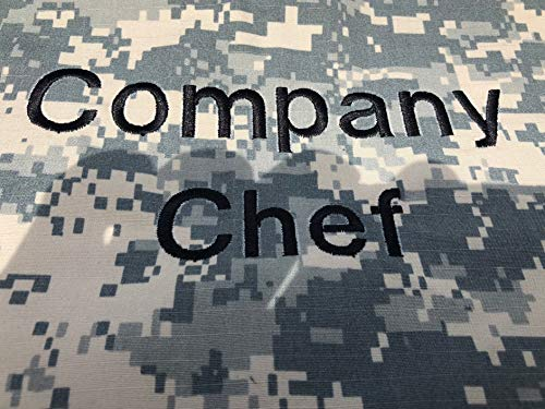Personalized APRON CAMO Camouflage Digital ACU Adjustable all sizes Custom Embroidery