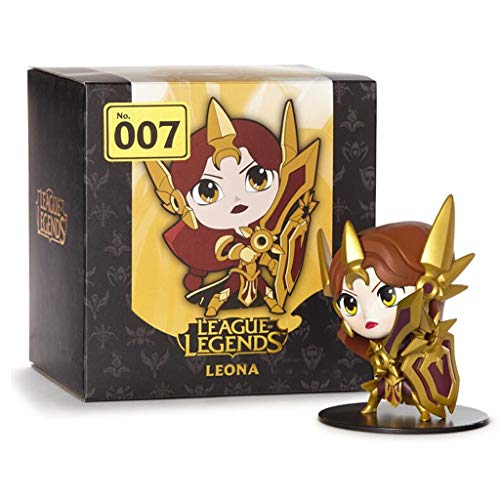 YHP Leona Figur The Radiant Dawn LOL Tank-Sup Champ, Gift for Sup Spieler, Die Dämmerung ist gekommen Collection