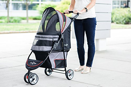 Gen7 Regal Plus Pet Stroller for Dogs and Cats – Lightweight, Compact and Portable with Durable Wheels 4