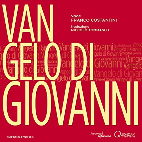 Vangelo di Giovanni [St. John's Gospel] audiobook cover art