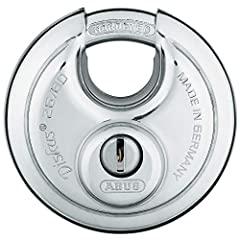 Manufactured in Germany Stainless steel lock body, with hardened steel shackle 2 keys per lock - Self storage leader Keyed alike, all locks are opened with the same key Top quality weld seam which gives high tensile strength