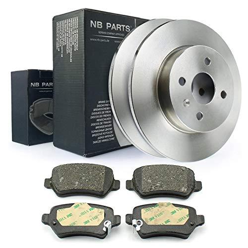 Bremsen/Bremsscheiben + Bremsbeläge hinten NB PARTS GERMANY 10043790