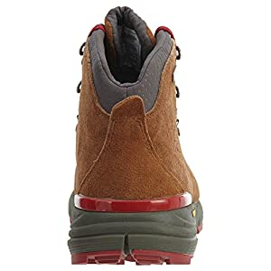 """Danner Men's Mountain 600 4.5"""" Hiking Boot, Brown/Red-Suede, 10 D US"""