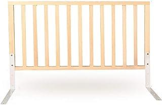 LYFHL Guardia de Cama Guardia de Cama Guardabarros de Madera para niños Tamaño Completo, Seguridad Ajustable Barandilla de Cama Guardia para niños Bebé (Size : 60cm)