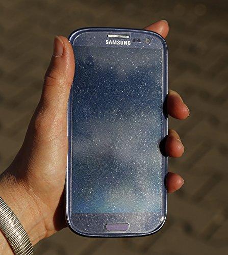 Neoxum AS Glasklare Displayschutzfolie mit Silberstaub für Huawei Ascend D2 - 2