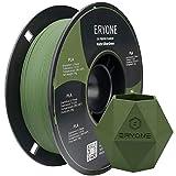 ERYONE Matte PLA Filament, 1.75mm Filament for 3D Printer, 1KG(2.2LBS)/ Spool, Matte Olive Green