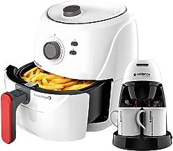 Kit Cadence White - Fritadeira 3,6L e Cafeteira Single Branca - 220V