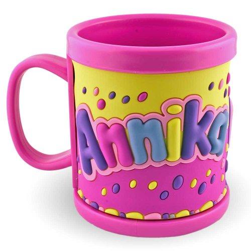 Mon nom Tasse 3D Mug Annika Rose pour les Enfants en plastique tasse gobelet