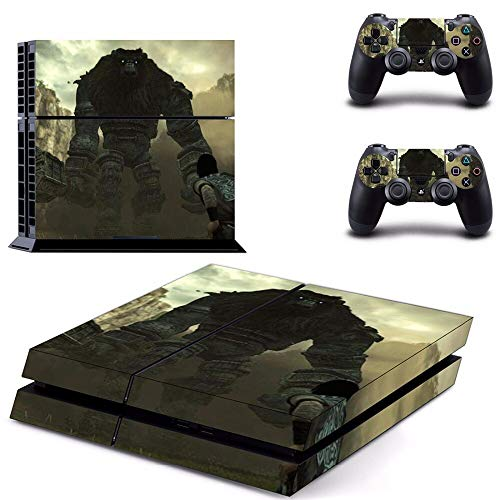 WANGPENG Shadow of The Colossus Ps4 Skin Sticker para Playstation 4 Consola y Controlador para Dualshock 4 Ps4 Skin Sticker Decal