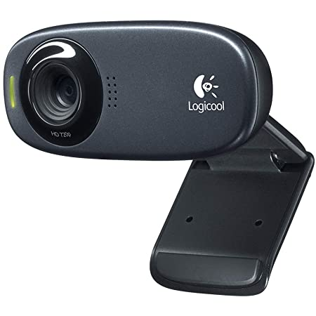 ロジクール ウェブカメラ C310h ブラック HD 720P ウェブカム ストリーミング ヘッドセット付属 国内正規品 2年間メーカー保証