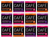 Viaggio Espresso Cápsulas de café compatibles con máquinas Nespresso Mix intensos (120 Cápsulas)