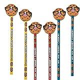 Elfen und Zwerge 6 x Bleistift Keks Cookie Kindergeburtstag Mitgebsel Einschulung Schultüte Schule Schulanfang Krümelmonster Radierer Radiergummi
