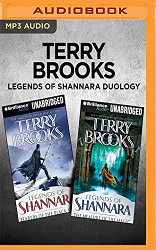 Terry Brooks Legends of Shannara Duology: Bearers of the Black Staff & the Measure of the Magic