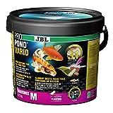 JBL Comida para Todos los Peces de Estanque, menú Flotante de Copos y Palos, Comida Especial ProPond Vario 0,72 kg