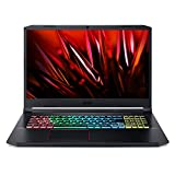 Acer Nitro AN517-52-577P Ordinateur portable Gaming 17.3' Full HD, Noir (Intel Core i5, 8Go de RAM, SSD 512Go, NVIDIA GeForce GTX 1650Ti 4 Go, Windows 10)