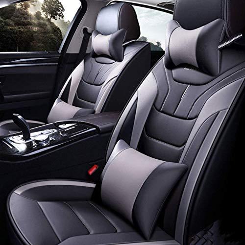 Fundas de Asiento de Coche de Cuero universales de Calidad para Land Rover Todos los Modelos Freelander 2 Discovery Sport Range Rover Velar Jaguar Xe Xf Xj E-Pace F-Pace I-Pace Xel Xfl