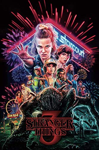 Stranger Things: Writing Journal • Notebook • Diary • Notepad
